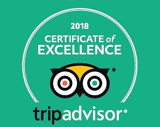 Trip Advisor Certifcate of Excellence